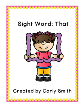 Sight Word: That