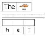 Sight Word  The Activities