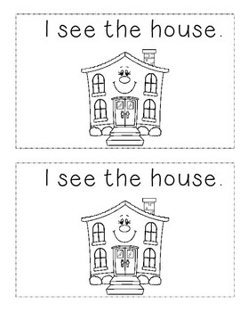 Sight Word 'The' Book