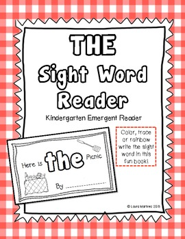 "Sight Word ""The"" Emergent Reader"