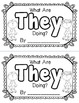 "Sight Word ""They"" Emergent Reader"