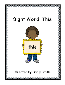Sight Word: This