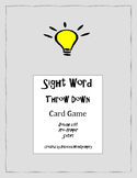 Sight Word Throw Down