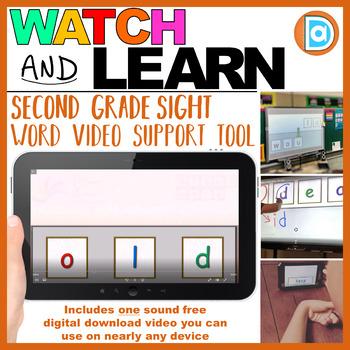 RTI | Second Grade Sight Word Fluency Tool | Old
