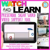 RTI | Kindergarten & First Grade Sight Word Fluency Tool | Go