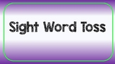 Sight Word Toss Game Rules