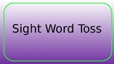 Sight Word Toss Game Rules (Editable)