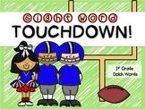 Sight Word Touchdown!