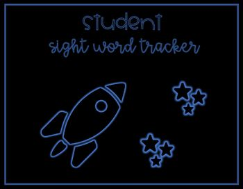 Student Sight Word Tracker