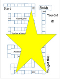 Sight Word Tracker Board Game