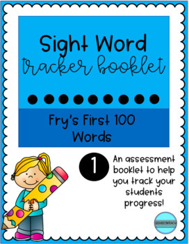 Sight Word Tracker Booklet 1