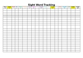 Sight Word Tracking