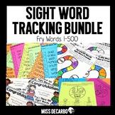 Sight Word Tracking BUNDLE