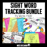 Sight Word Tracking BUNDLE