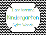 Sight Word Tracking Posters