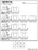 Sight Word Train - Pre-primer (cut and paste)