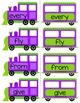 Sight Word Trains~Word Wall, Games and Centers {1st Grade Words}