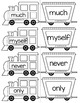 Sight Word Trains~Word Wall, Games and Centers BUNDLE
