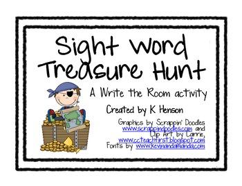 Sight Word Treasure Hunt