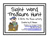 Sight Word Treasure Hunt