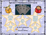Sight Word Trifold Booklets Level 4