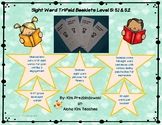 Sight Word Trifold Booklets Level 5