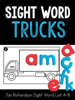Sight Word Trucks
