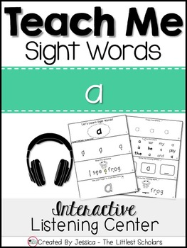 Teach Me Sight Words: A [Interactive Center with Printables and Audio]