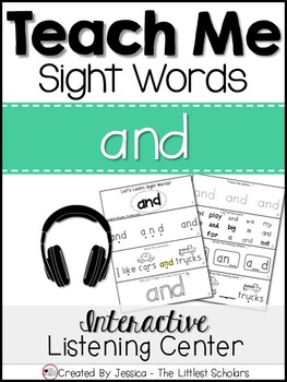 Teach Me Sight Words: AND [Interactive Center with Printab