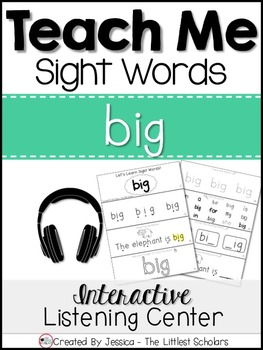 Teach Me Sight Words: BIG [Interactive Center with Printab