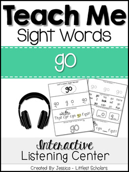 Teach Me Sight Words: GO [Interactive Center with Printables and Audio]