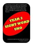 Sight Word UNO