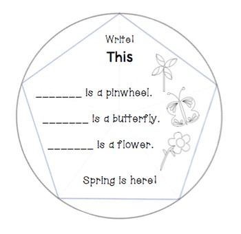 Sight Word Dodecahedron 4