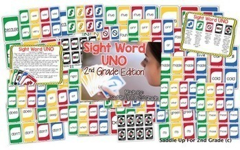 Sight Word Uno Bundle