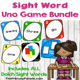 Sight Word Uno Game Bundle