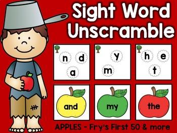 Sight Word Unscramble: September