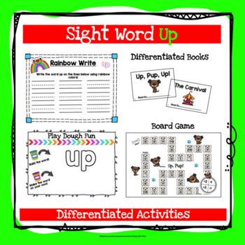 Sight Word Up Activities