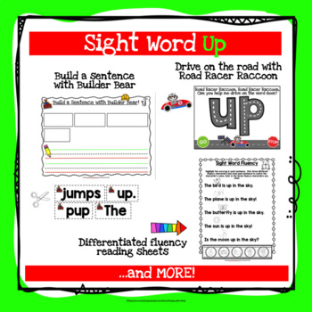 Sight Word Up Activities