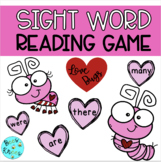 Sight Word Reading Game - Valentine Theme
