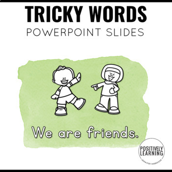 Screen Slides: Sight Word Visuals