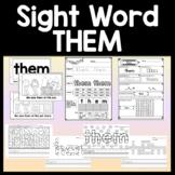Sight Word WAS Activities {6 Literacy Center Activities!}