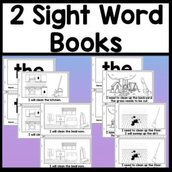 Sight Word WE Activities {6 Literacy Center Activities!}