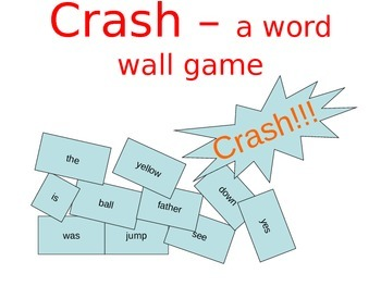 Crash A Sight Word Game