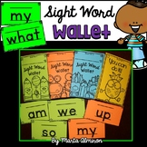 Sight Word Wallet (EDITABLE)