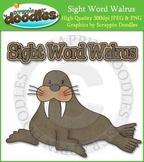 Sight Word Walrus Reading Strategy