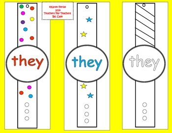 High-Frequency Word Watches (Set B)
