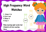 Sight Word Watches Free