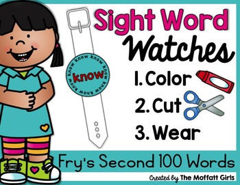 Sight Word Watches-Fry's Second 100 Words