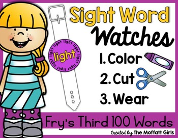 Sight Word Watches-Fry's Third 100 Words