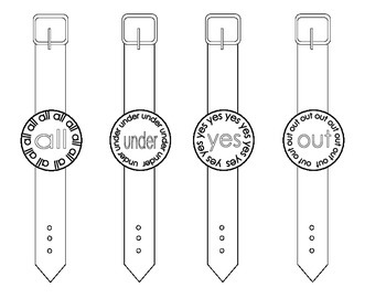 Sight Word Watches-Primer